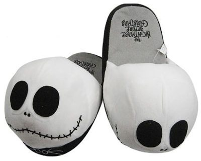Jack Skellington the Nightmare Before Christmas Slippers