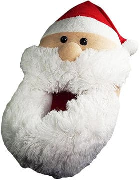 Norty Men´s Plush Santa Clause Slipper