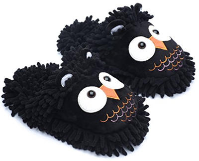 Ofoot Cartoon Animal Slippers for Women and Men