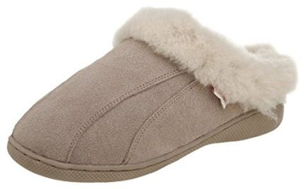 Tamarac by Slippers International Women´s Cozy Sheepskin Clog Slippers