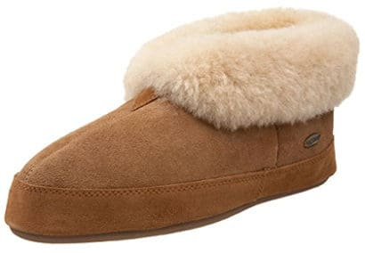 ACORN Men's Sheepskin Bootie Slipper