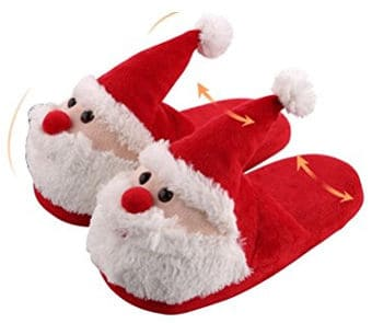 3D Christmas slipper