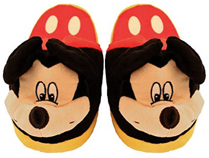 Animated Mickey Mouse Slippers