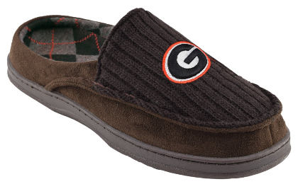 NCAA Men's Slip on Moccasin Team Logo Slippers