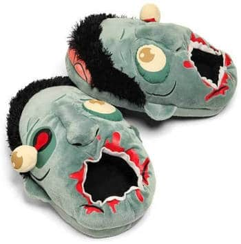 ThinkGeek Zombie Plush Slippers