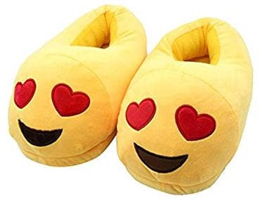 Cute Emoji Winter Unisex Cherioll Adult Slippers