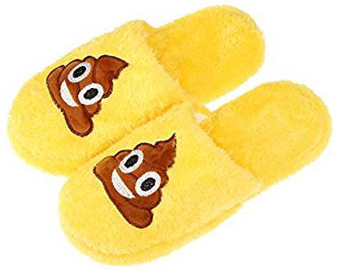 Emoji cartoon slipper