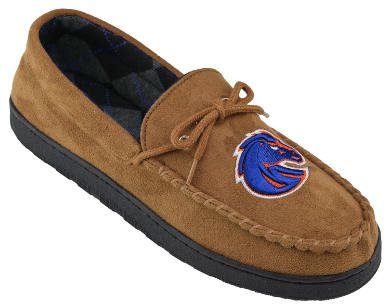 NCAA Men's Moccasin Team Logo Slippers