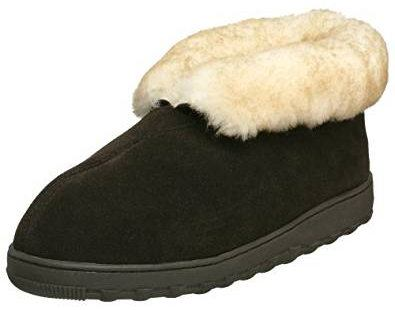 Tamarac by Slippers International Men's Highlander Shearling Slippers