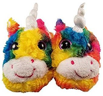 Unicorn Slippers for Girls by Critter slippers