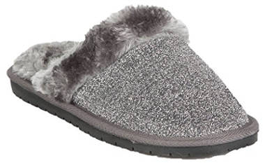 Hounds Women's Frosted Memory Foam Scuffs Slippers