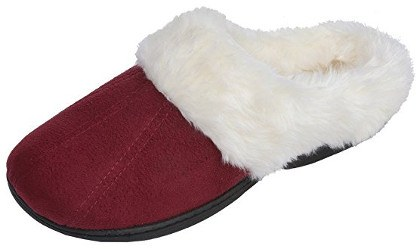 Beverly Rock Women's Faux Fur Lined Plush Clog Slipper