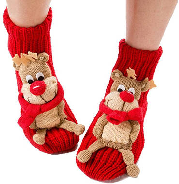 Coxeer Christmas Socks - 3D Animal Socks