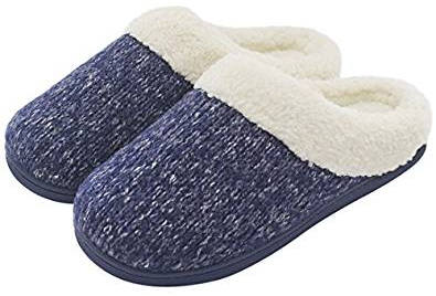 UltraIdeas Women's Woolen Yarn Knitted Slipper