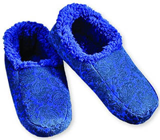 Snoozies Men´s Paisley Embossed Slipper Socks