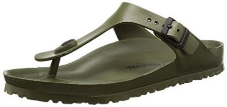 Birkenstock Women's Gizeh Thong Sandal with Eva Rubber Foot Bed