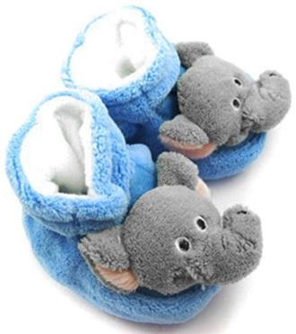 KF Baby Elephant Soft Sole Booties