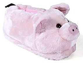 Happy Feet Premium Pig Slippers