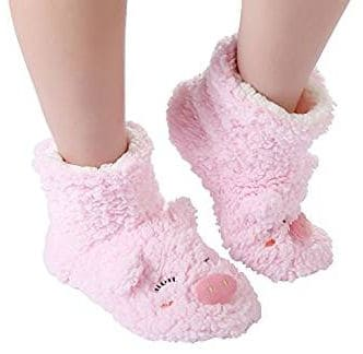 Women's Pig Boot Slipper Socks