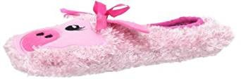 K. Bell Women's Pink Pig Slipper Socks