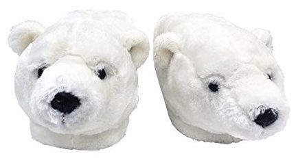 Happy Feet Polar Bear Slippers