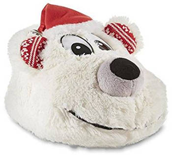 Joe Boxer Women's Polar Bear Christmas Slippers