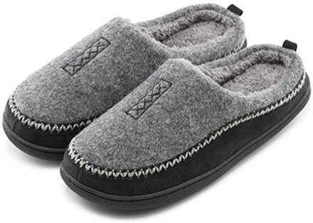 HomeTop memory foam slip on clogs