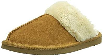 Minnetonka Women's Chesney Scuff Slippers
