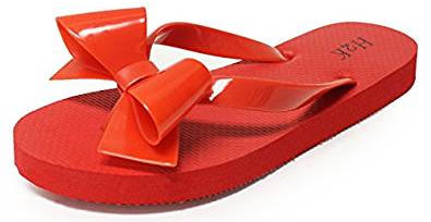 BOW Women's Ribbon Flip-Flops