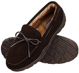 Rockport memory foam moccasin slippers