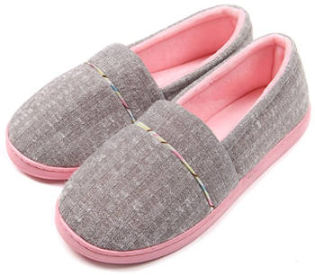 ChicNChic cotton knit house slippers