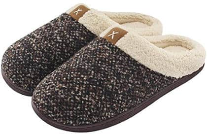 UltraIdeas Men's Comfort Memory Foam Slippers