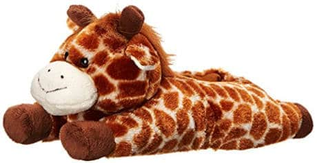 Wishpets Giraffe Animal Slippers For Adults And Kids
