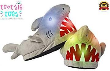 Shark LED Light-Up Slipper for Toddlers and Kids