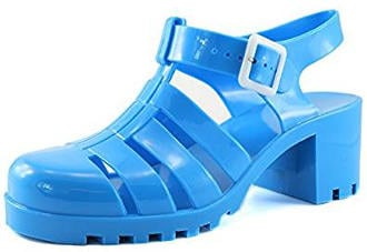 Funky jelly gladiator sandals
