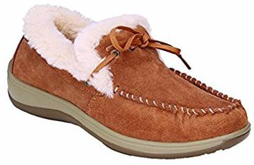 Orthofeet Capri Women's Orthopedic Leather Moccasins