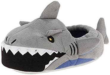 Stride Rite Boys' Light-up Shark Slippers