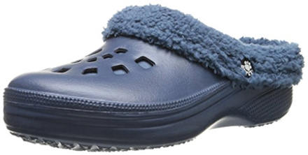 Dawgs Women's Fleece Indoor-Outdoor Clog Slippers