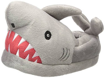 Trimfit Kids' Boys Light-up Eyes Shark Slippers