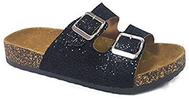SNJ Women's Casual Buckle Straps Sandals