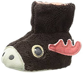 Acorn Moose Bootie Slippers