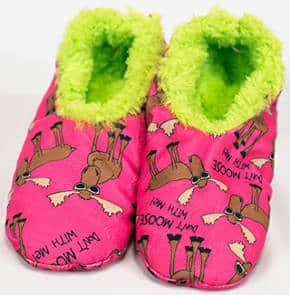 Deer animal slippers