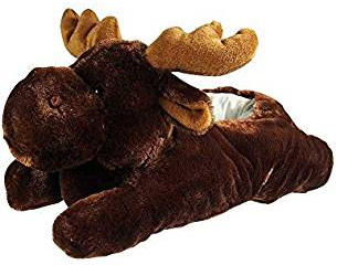 Wishpets Moose Slippers