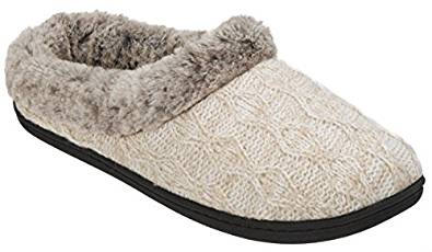 Dearfoams Women's Knit Clog Slippers