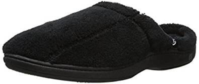 ISOTONER Men's Terry Slip On Cushioned Slipper