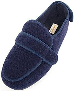 Extra wide boot slippers