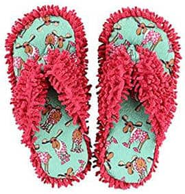 Flip flop moose spa slippers for women