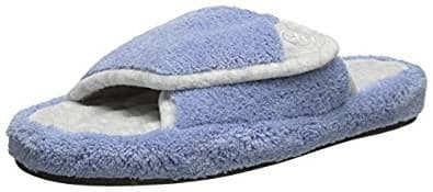 Isotoner terry spa slide slipper