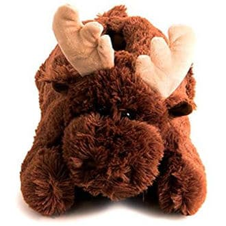 Fun Moose Slippers For Adults And Kids