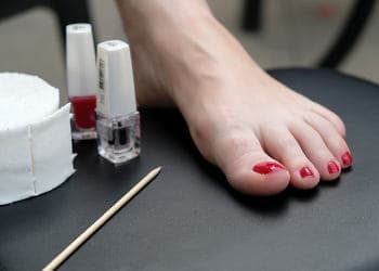 Pedicure foot care